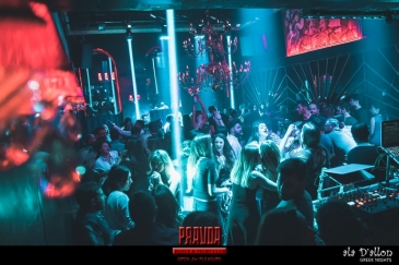 Pravda dance club in Kalamata, uses FOS Technologies to light up the nights!
